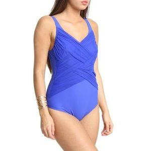 Triumph Multilayer Mesh One Piece Swimsuit